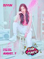 Rocket Punch Suyun Pink Punch teaser photo
