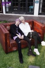 ENOi Jinwoo & Laon Bloom duo promo photo