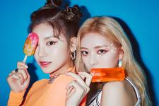 ITZY IT'z Icy Yeji & Yuna promo photo