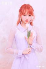 IZONE Kim Chae Won Heart IZ concept photo Violeta ver