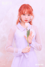 IZONE Kim Chae Won Heart IZ concept photo Violeta ver