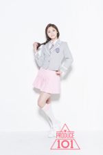 Produce 101 Zhou Jieqiong promotional photo