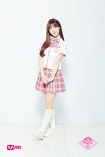 Na Go Eun Produce 48 promotional photo 2
