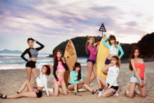 Nine Muses 9MUSES SS Edition group promo photo