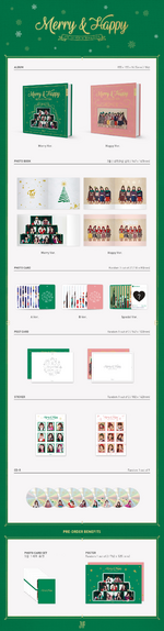 TWICE Merry & Happy album preview