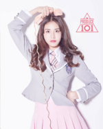 Produce 101 Somi promotional photo