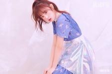 IZONE Choi Ye Na Heart IZ concept photo Violeta ver
