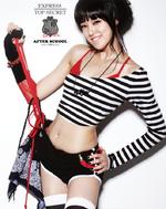 After School Juyeon New Schoolgirl concept photo