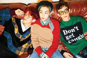 EXO-CBX para Hey Mama!
