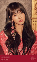 Lovelyz Lee Mi Joo Fall In Lovelyz concept photo