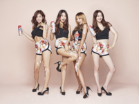 SISTAR Touch N Move group photo
