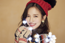 TWICE Mina Merry & Happy promo photo