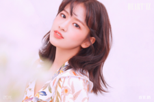 IZONE An Yu Jin Heart IZ concept photo Violeta ver
