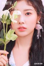 IZONE Kang Hye Won Heart IZ concept photo Violeta ver