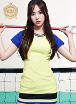 AOA Mina Heart Attack photo