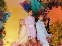 IZONE Jo Yu Ri Kim Chae Won Choi Ye Na Bloom IZ concept photo
