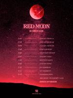 KARD Red Moon scheduler