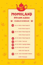 MOMOLAND Show Me scheduler