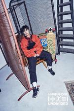 Wanna One Park Ji Hoon Light promo photo 2