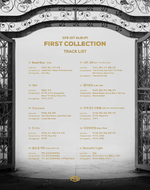 SF9 First Collection tracklist poster