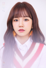 IZONE Jo Yu Ri COLORIZ promo photo 2