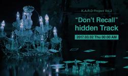 KARD Don't Recall Hidden Video Promo