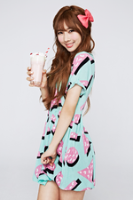 MINX Yoohyeon Love Shake promotional photo