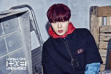 Wanna One Ha Sung Woon Light promo photo