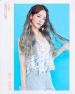 Fromis 9 Roh Jisun Fun Factory concept photo Fun ver