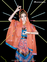 2NE1 Dara Fire promo photo