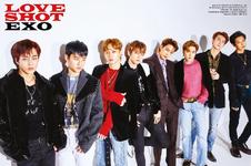 EXO Love Shot promotional photo
