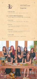 Lovelyz Once Upon A Time track list