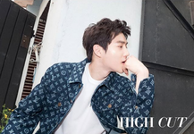 Suho High Cut June 2018 photo 2