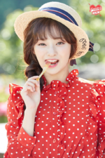 Fromis 9 Nagyung To. Day promo photo
