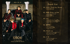 D1CE Wake Up Roll the World track list