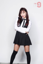 MIXNINE Heo Chanmi profile photo