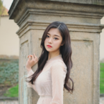 LOONA 1-3 Love & Evil HyunJin promotional photo