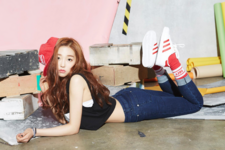 CLC Yeeun First Love promotional photo