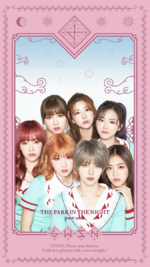GWSN THE PARK IN THE NIGHT part one jacket photo