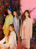 IZONE An Yu Jin Kim Min Ju Lee Chae Yeon Kwon Eun Bi Bloom IZ concept photo