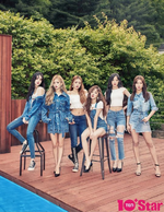 (G)I-DLE 10+star July 2018 photo