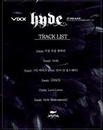 VIXX Hyde track list