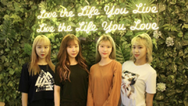 Baby Boo as a four member group (with Hajin and Jelly)