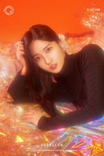 EVERGLOW Sihyeon Arrival of EVERGLOW concept photo