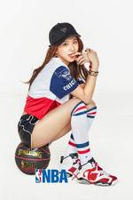 TWICE Chaeyoung NBA Style promo