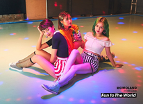 MOMOLAND Fun to The World unit photo teaser Hyebin & Ahin & Nancy