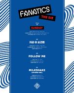 FANATICS The Six track list