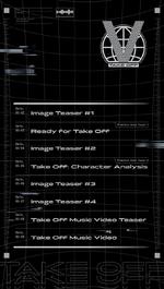 WayV Take Off scheduler