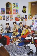 DONGKIZ All I Need is You group concept photo