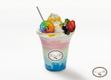 TWICE Candy Pop Cafe Colorful Yogurt Drink